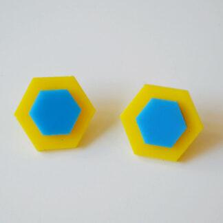 amalia amarelo e azul claro