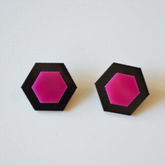 Amália preto e rosa