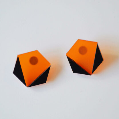 Amy laranja fosco e preto