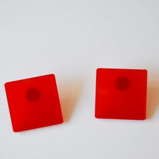 Nico vermelho transparente