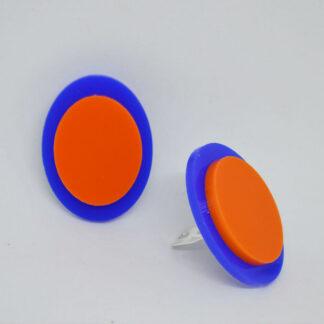 Diana azul e laranja