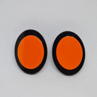 Diana preto e laranja