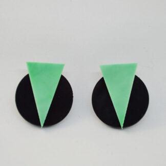 Marilyn preto e verde mármore