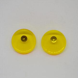 Ava amarelo transparente