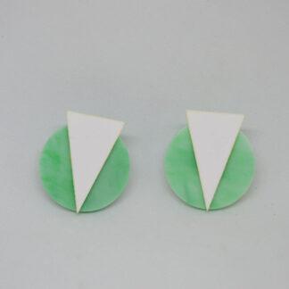 Marilyn verde mármore e branco