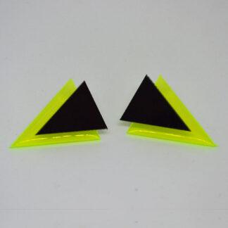 Twiggy amarelo fluorescente e preto