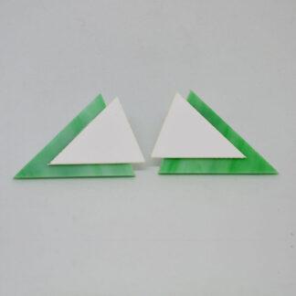Twiggy verde mármore e branco