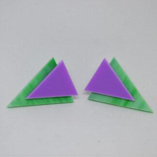 Twiggy verde mármore e lilás