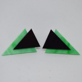Twiggy verde mármore e preto