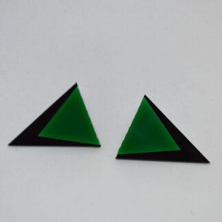 Audrey preto e verde diferente