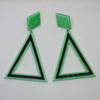 Anna verde mármore e preto