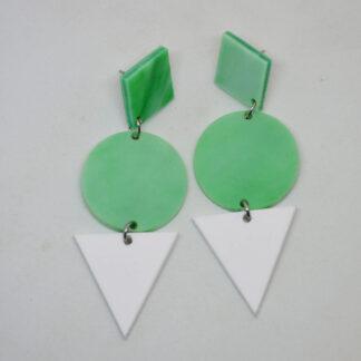 Grace verde mármore e branco