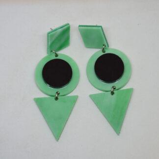 Grace verde mármore e preto