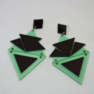 Zsa Zsa verde mármore e preto