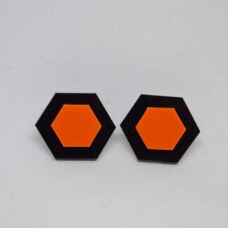 Amália preto e laranja
