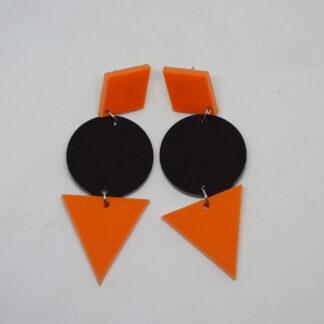 Grace laranja, preto e laranja