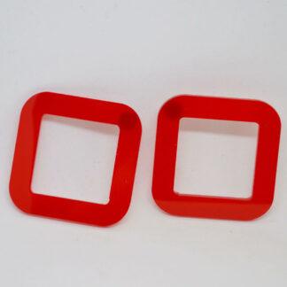 Jones vermelho transparente