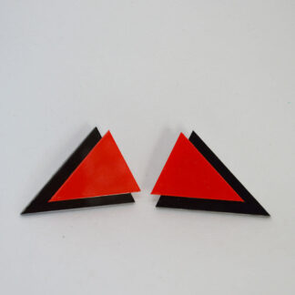 Twiggy preto e vermelho MOLA
