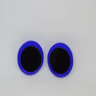 Diana azul e preto