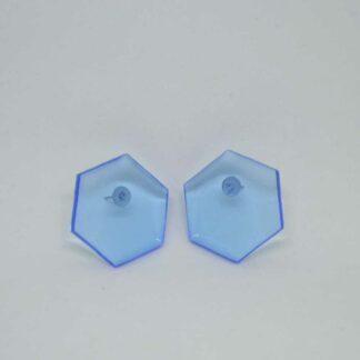Amália azul transparente claro