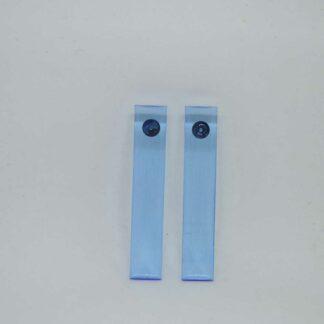 Debbie azul transparente claro