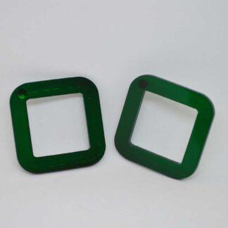 Jones verde transparente