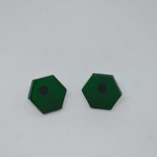 Mini Amália verde transparente