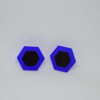 Amália azul e preto
