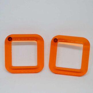 Jones laranja transparente