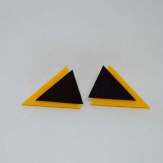 Twiggy amarelo torrado e preto