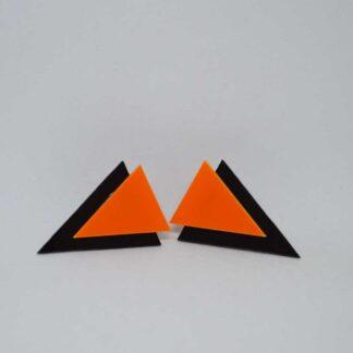 Twiggy preto e laranja